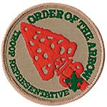 Troop Representative Badge